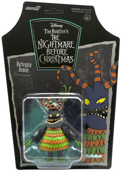 ReAction Nightmare Before Christmas Harlequin Action Figure