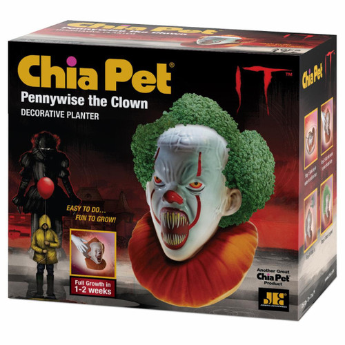 NECA Chia IT Screaming Pennywise Chia Pet