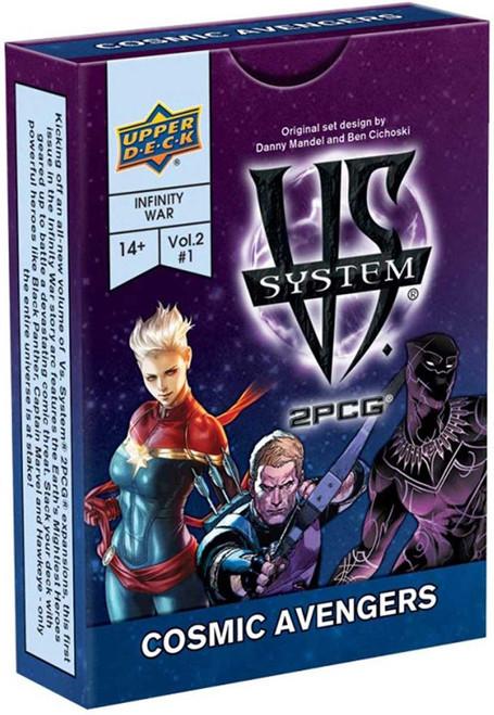 Marvel VS System Trading Card Game 2PCG Cosmic Avengers [Vol. 2 #1]