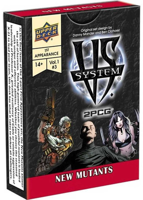 Marvel VS System Trading Card Game 2PCG New Mutants Vol 1 #3