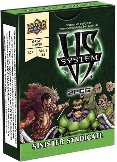 Marvel VS System Trading Card Game 2PCG Sinister Syndicate