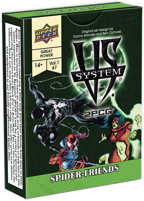 Marvel VS System Trading Card Game 2PCG Spider-Friends [Vol. 1 #7]