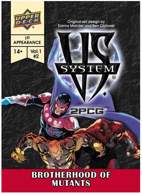 Marvel VS System Trading Card Game 2PCG Brotherhood of Mutants [Vol. 1 #2]