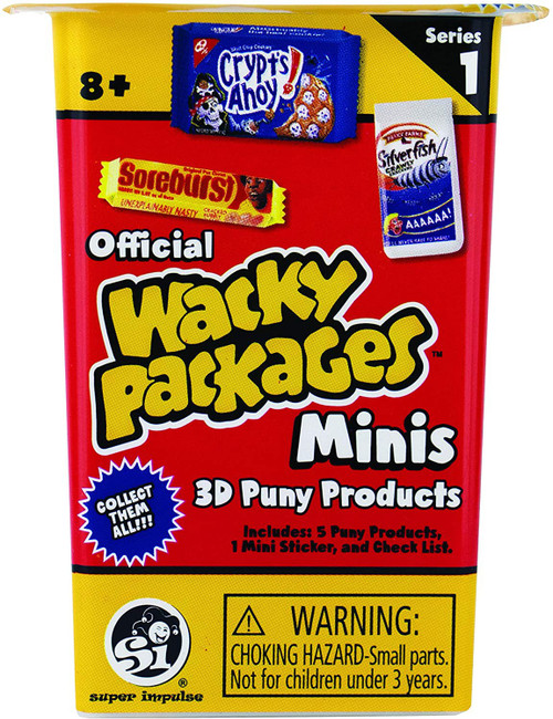 World's Smallest Wacky Packages Minis Series 1 Mystery Pack [5 Pieces]