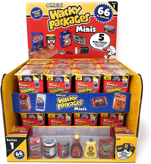 World's Smallest Wacky Packages Minis Series 1 Mystery Box [24 Packs]