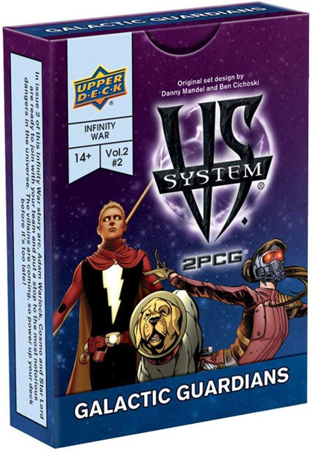 Marvel VS System Trading Card Game 2PCG Galactic Guardians [Vol. 2 #2]