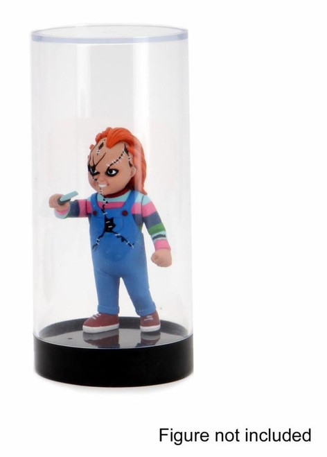 """NECA Originals Valuelock 3.75"""" Storage Capsule Cylindrical Display Stand [Figure NOT Included!]"""
