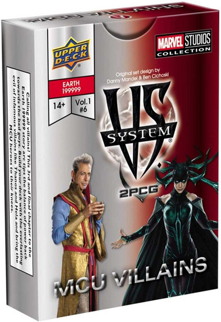 Marvel VS System Trading Card Game 2PCG MCU Villains [Vol. 1 #6]