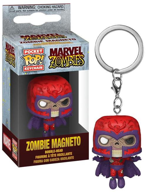Funko Marvel Zombies POP! Keychain Magneto Vinyl Figure