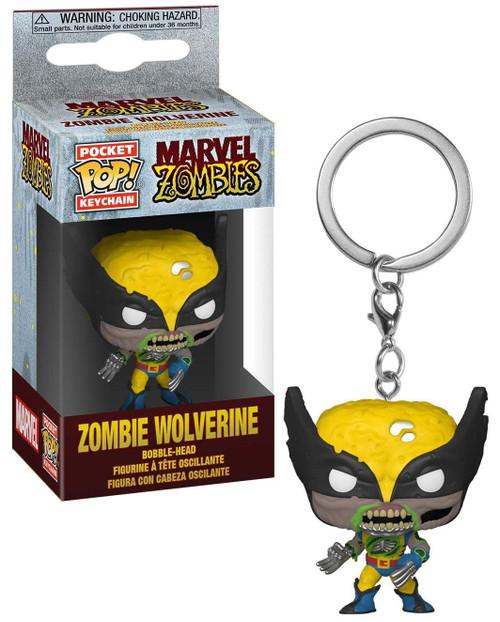 Funko Marvel Zombies POP! Keychain Wolverine Vinyl Figure