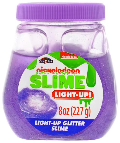 Nickelodeon Slime Light-Up Glitter Purple Slime