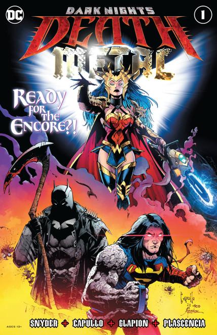 DC Dark Nights #1 of 6 Death Metal Comic Book