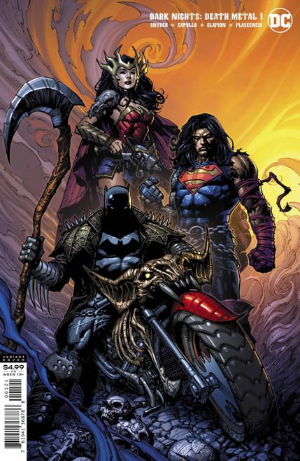 DC Dark Nights #1 of 6 Death Metal Comic Book [David Finch Batman Variant Cover]