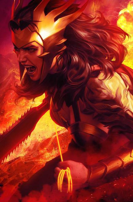 "DC Dark Nights #1 of 6 Death Metal Comic Book [Stanley ""Artgerm"" Lau Wonder Woman Variant Cover]"