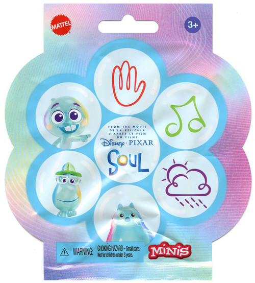 Disney / Pixar Minis Soul Mystery Pack [1 RANDOM Figure]