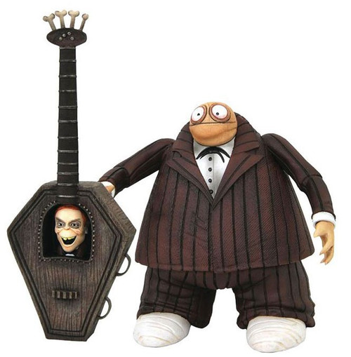 Nightmare Before Christmas Select Series 8 Zombie Bass Player Action Figure