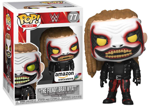 "Funko WWE Wrestling POP! Sports ""The Fiend"" Bray Wyatt Exclusive Vinyl Figure #77"