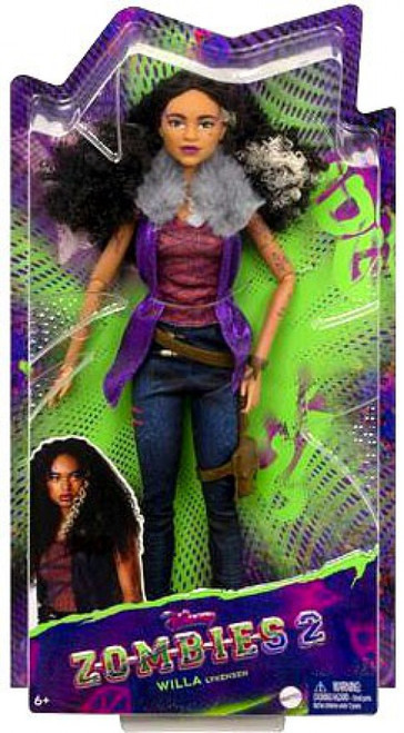 Disney Zombies 2 Willa Lykensen 11.5-Inch Basic Doll