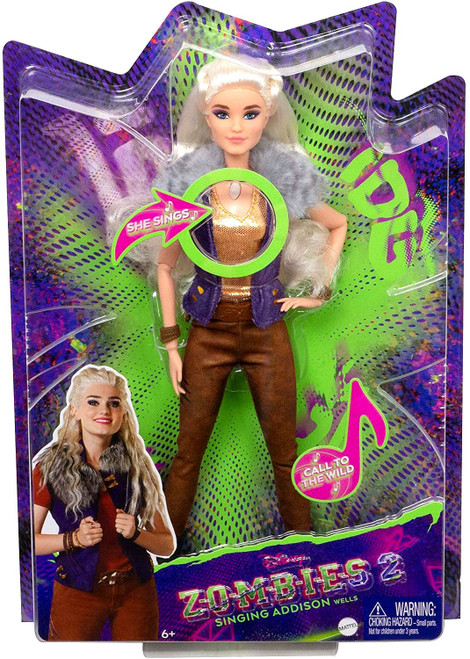 Disney Zombies 2 Addison Wells 11.5-Inch Deluxe Singing Doll [Suede Pants]