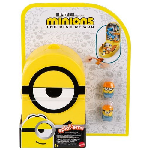 Minions Rise of Gru Splat 'Ems Construction Playset