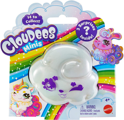 Cloudees Minis Mystery Pack [1 RANDOM Pet with attachable Cloud Tail & Keychain!]