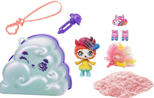 Cloudees Pet Mystery Pack [1 RANDOM Pet with attachable Cloud Tail & Keychain!]