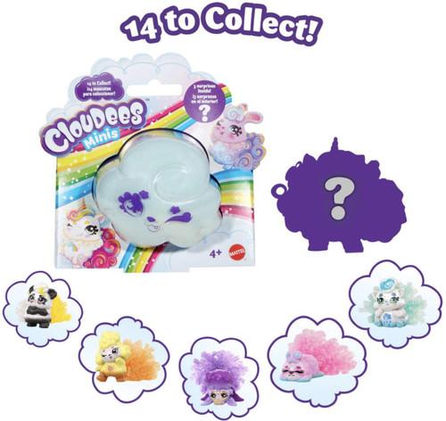 Cloudees Minis 4-Pack [4 RANDOM Pets!]