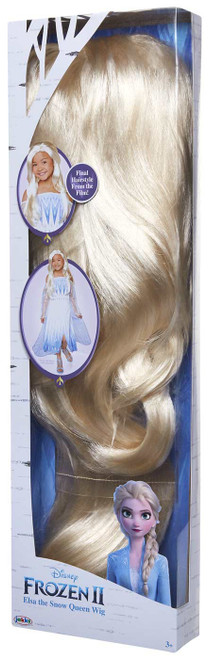 Disney Frozen 2 Elsa the Snow Queen Wig Dress Up Toy