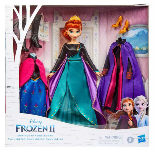 Disney Frozen Frozen 2 Anna's Style Set Exclusive 11-Inch Doll