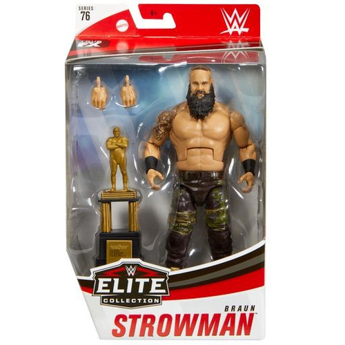 WWE Wrestling Elite Collection Series 76 Braun Strowman Action Figure