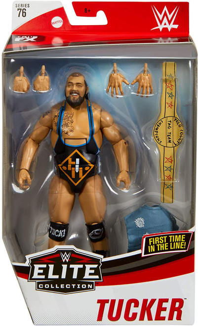 WWE Wrestling Elite Collection Series 76 Heavy Machinery Tucker Action Figure