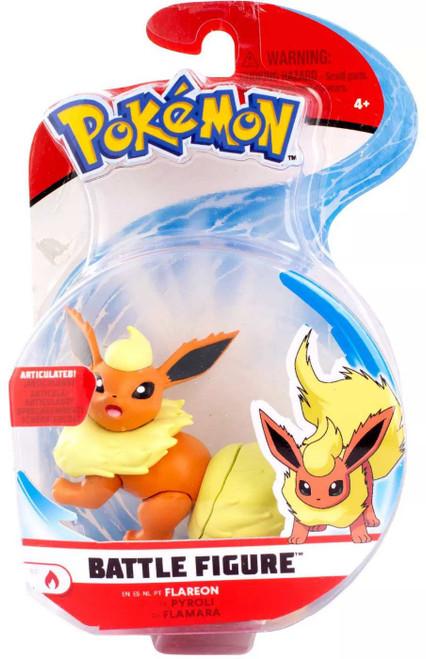 Pokemon Series 3 Battle Figure Flareon 3-Inch Figure