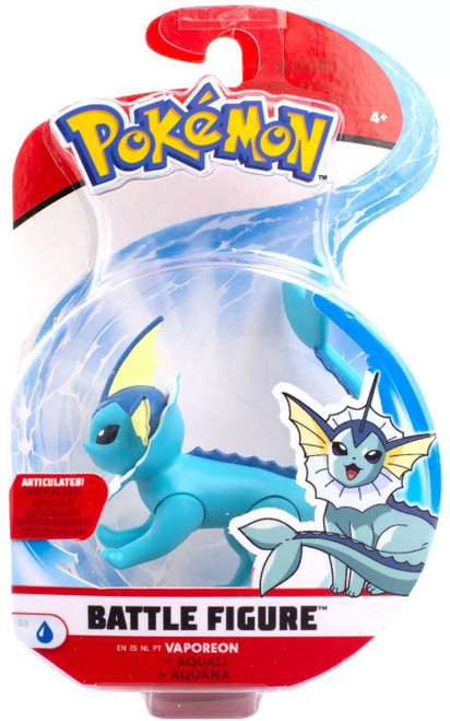 Pokemon Series 3 Battle Figure Vaporeon 3-Inch Figure