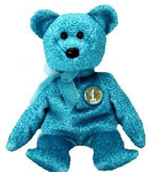 Beanie Babies Classy the Bear Beanie Baby Plush