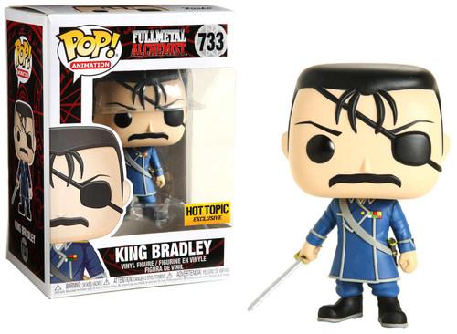 Funko Fullmetal Alchemist POP! Animation King Bradley Exclusive Vinyl Figure #733