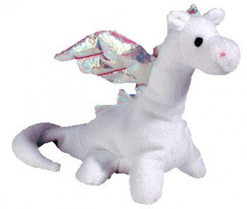 Beanie Babies Magic the Dragon Beanie Baby Plush [Pink Thread]