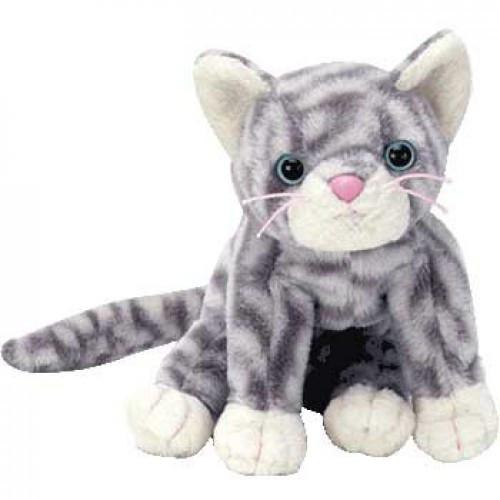 Beanie Babies Silver the Gray Tabby Beanie Baby Plush