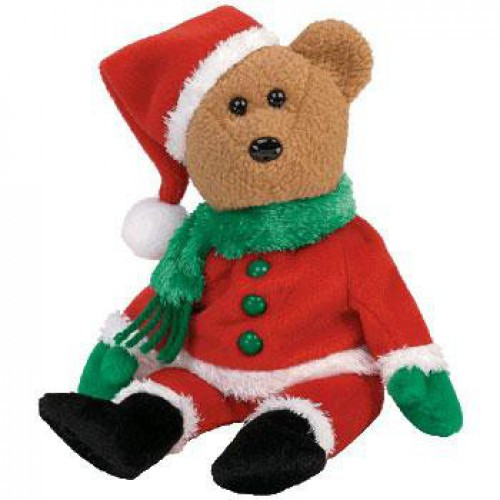 Beanie Babies Kringle the Bear Beanie Baby Plush
