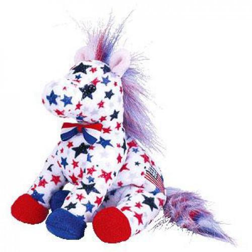 Beanie Babies Lefty the Donkey Beanie Baby Plush [Version 2]