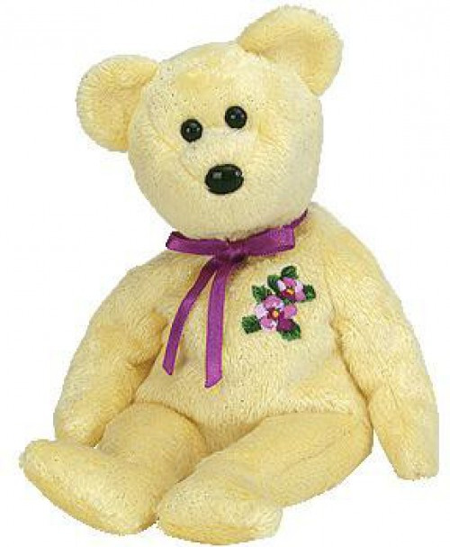 Beanie Babies Mother the Mother's Day Bear Beanie Baby Plush