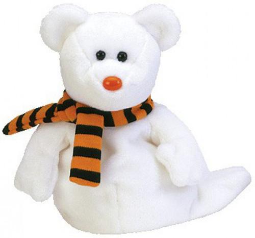 Beanie Babies Quivers the Ghost Bear Beanie Baby Plush