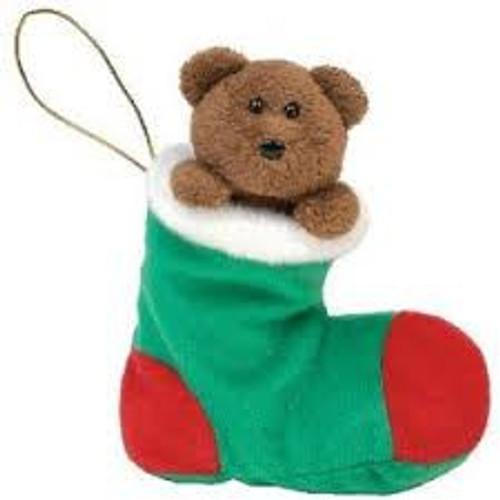 Beanie Babies Stockings the Bear Beanie Baby Plush