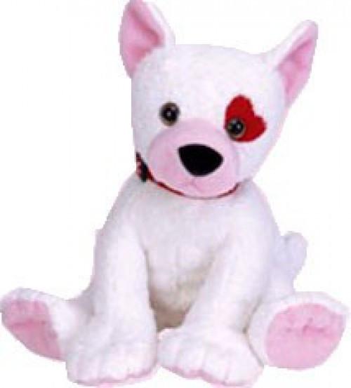 Beanie Babies Cupid the Dog Beanie Buddy Plush
