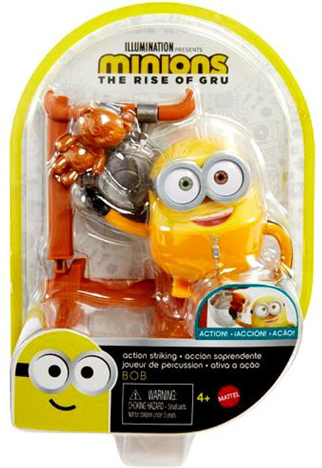 Minions Rise of Gru Action Striking Bob Action Figure