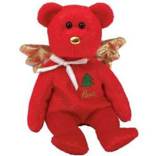 Beanie Babies Gift the Red Bear Beanie Baby Plush [Joy]