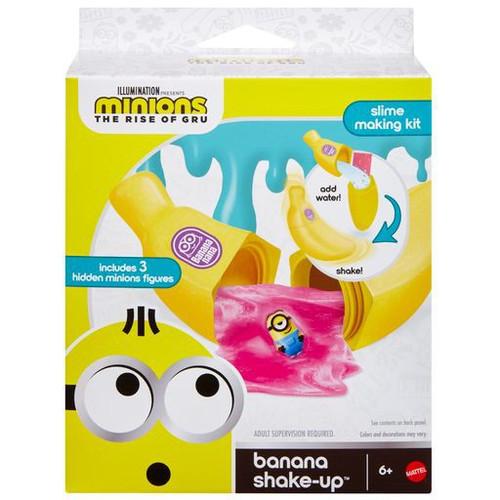 Minions Rise of Gru Banana Shake-Up Slime Kit