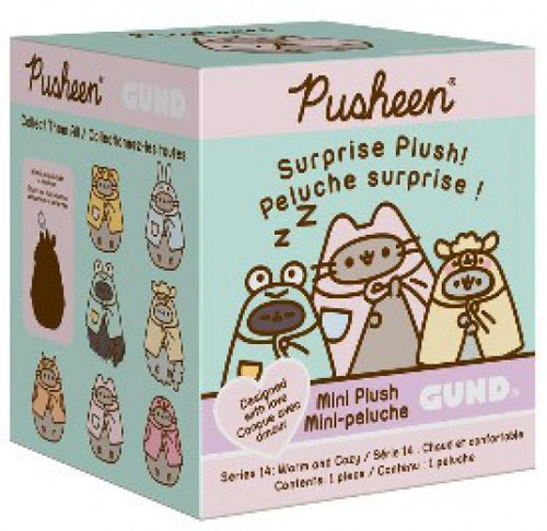 Pusheen Series 14 Warm & Cozy Mystery Pack [1 RANDOM Mini Plush Figure]