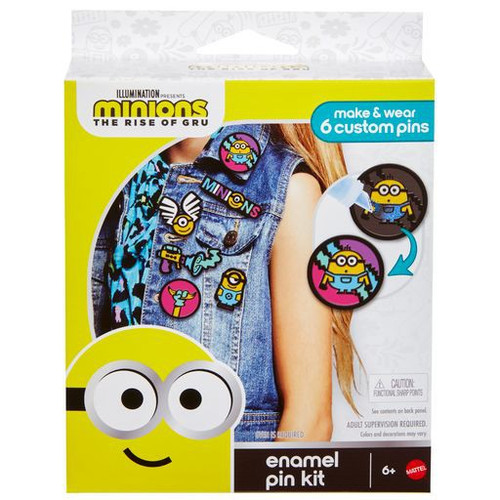 Minions Rise of Gru Enamel Pin Kit