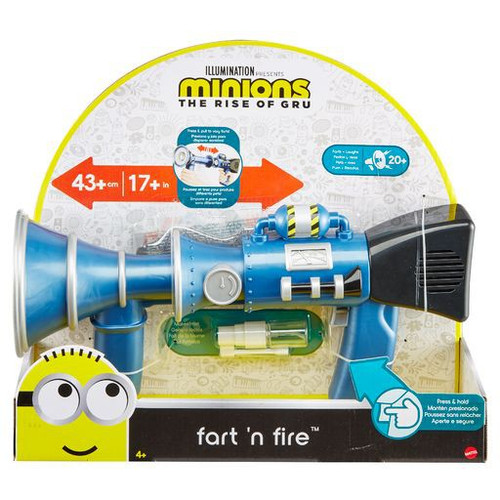 Minions Rise of Gru Fart 'n Fire Toy