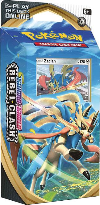 Pokemon Trading Card Game Sword & Shield Rebel Clash Zacian Theme Deck